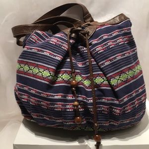 Bags - ❤️ Cowgirl Multicolored Boho Drawstring Pouch Bag